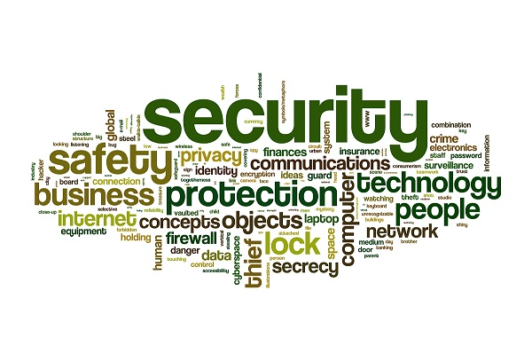 securety safety word cloud